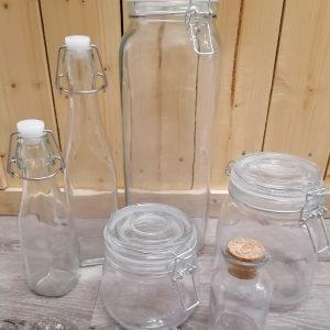 Bags, Bottles & Jars